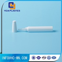 10ml Natural Nozzle Cream Plastic Tube