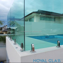 High Quality Customized Clear Swimming Pool Glass Panels