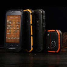 Rugged phone discovery V6 4inch IPS screen IP68 waterproof dual sim card android smart phone