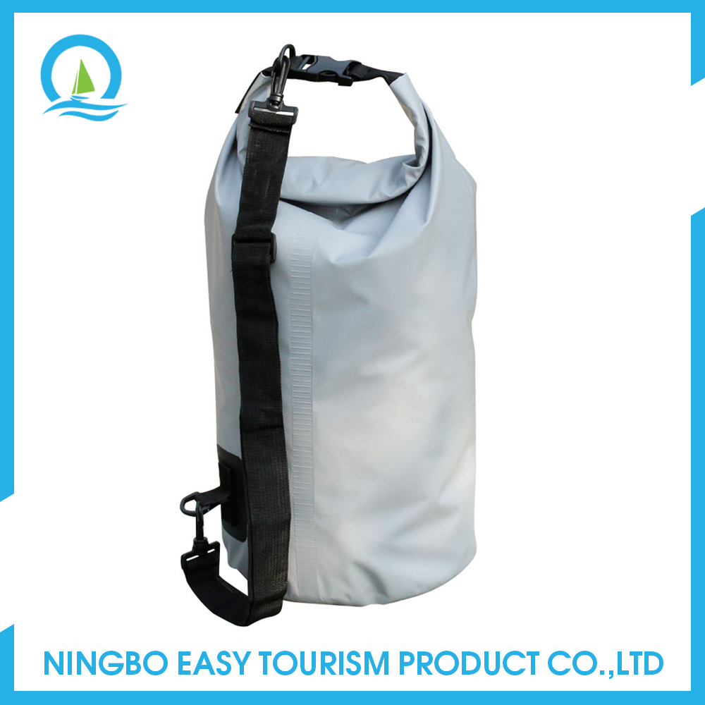 Outdoor Sports 500 D Pvc Tarpaulin Waterproof Dry Bag With Strap And Zipper For Beach Camping Boating Rafting