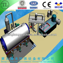 2013 recycling machine used for plastic scrap 40%oil yield