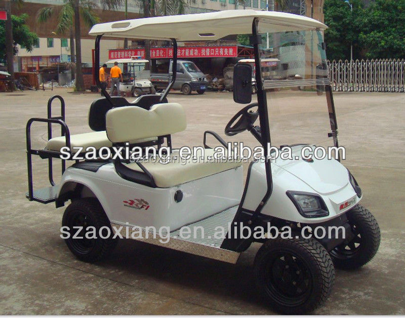 30% climbing ability powerful standard enclosed golf cart for park school resort