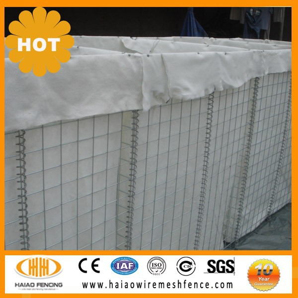 Hesco type military sand wall hesco barrier,hesco barrier price ,hesco barriers for sale