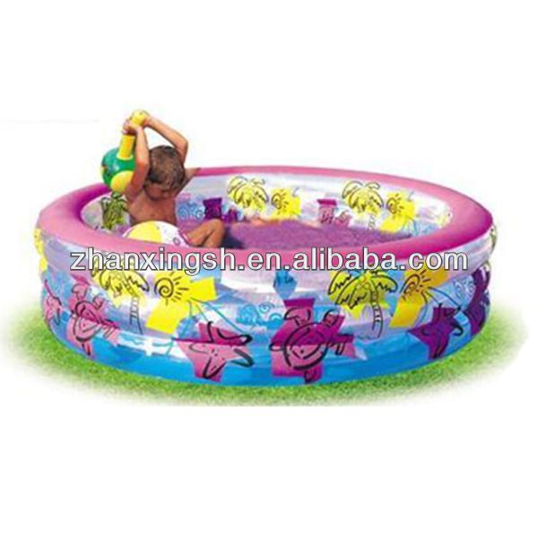 2014 shanghai zhanxing hot sale cheap popular pvc durable inflatable sunshine pools for kids