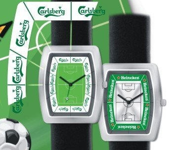 Analogue Soccer Watch For Banner Promotion