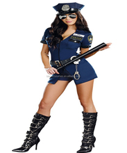 MOON BUNNY 3 Pcs New Ladies Police Fancy Halloween Costume Sexy Outfit Woman Cosplay Sexy Police Costumes