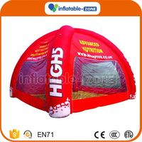 New design model inflatable tent for advertisement outdoor pvc tarpaulin inflatable tent