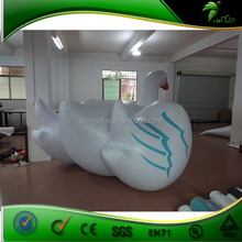 Factory 2015 Hot Selling Inflatable White Swan Pool Float for Water Games / Inflatable Water Swan