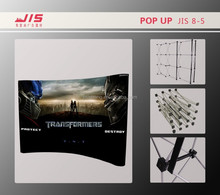 JIS8-5 economic 230*230cm customised exhibition display trade show usage aluminum pop up display