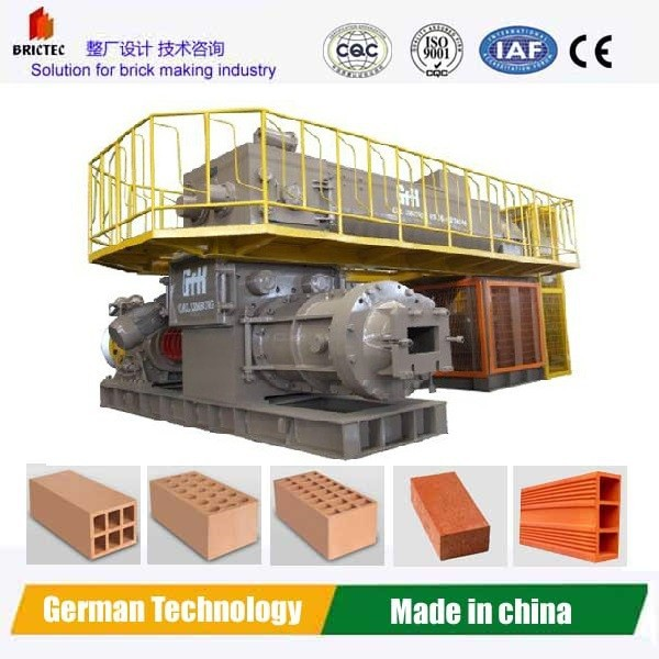 popular extruder for clay brick making in india