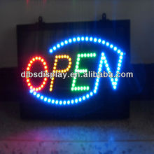 Promotional acrylic led open sign