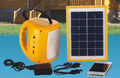 Solar power system Sunlight led camping light with solar panel