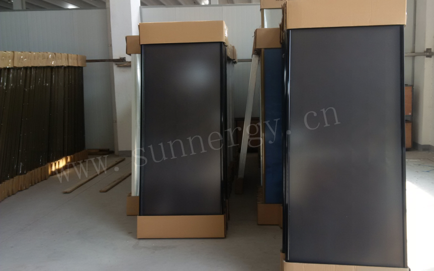 CE/ISO/Key-mark/SRCC flat plate solar collector prices