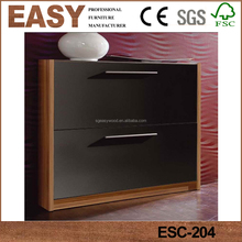 New stylish modern design wooden mdf shoe storage cabinet