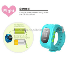Popular Emergency GPS Tracker Security Kids Smart Watch