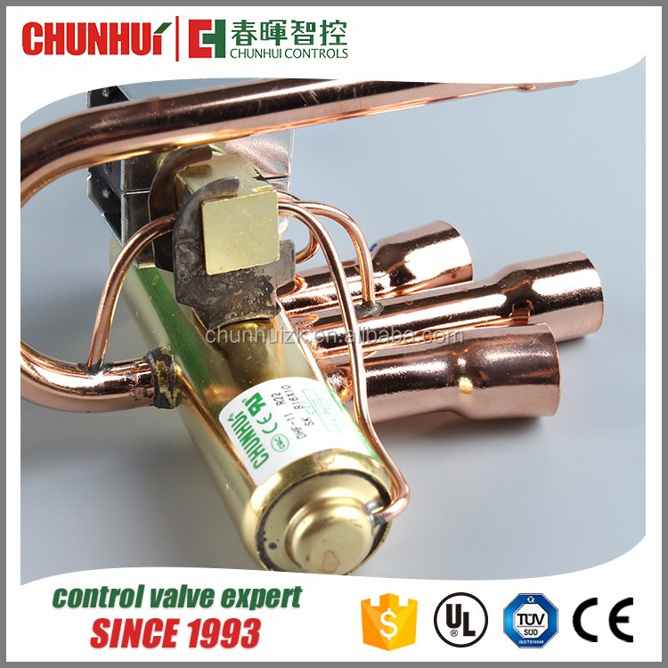 DHF-11 Air Conditioner 4 way refrigeration reversing valve