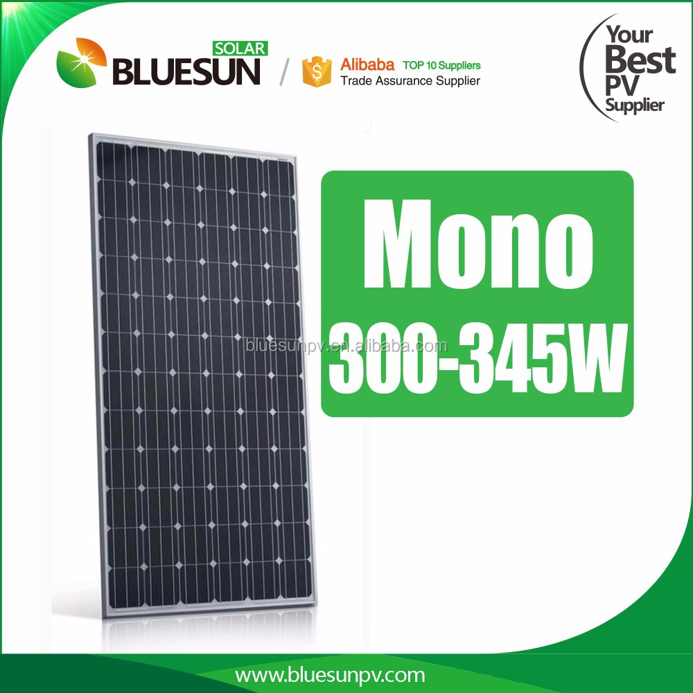 4BB 24V monocrystalline solar panel 300w 310W 320W in Bluesun solar
