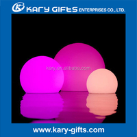 DMX Controlled 16 Kinds Color Rechargeable LED Pool Balls led ball light