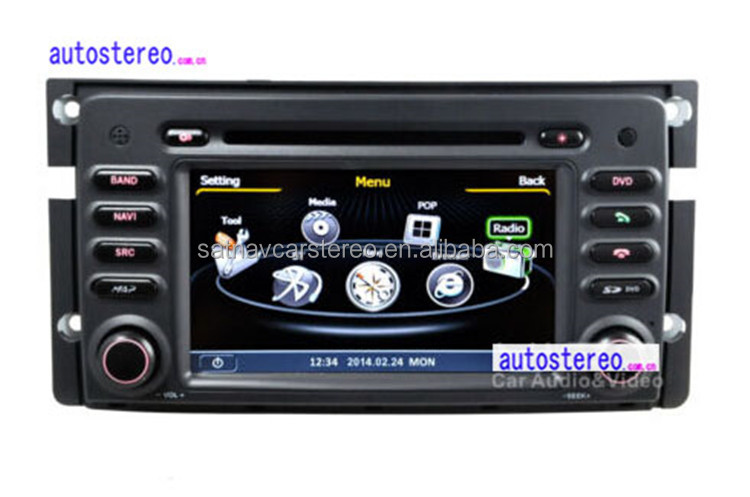 Autostereo Car DVD Player for Mercedes Smart Fortwo GPS Navigation with Canbus,Ipod,BT,WIFI and Free Map Car Multimedia System