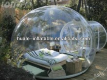 Cheap clear inflatable bubble lawn tent /transparent tent for sale