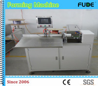 plastic single wire o forming machine