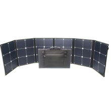 CE ROHS 120 watt sunpower folding solar panel for outdoor emergency power supply