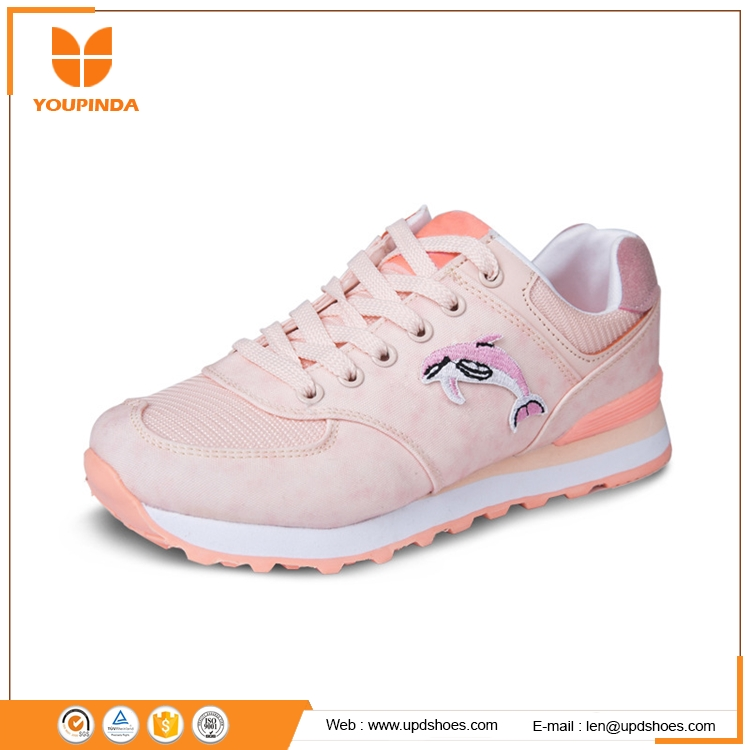 fashion women spring and summer sports running shoes flying woven breathable shoes