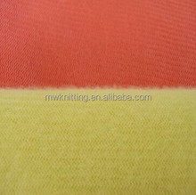 2015 new design polyester tricot warp knitted fabric super soft fabric for toy home textile colthing garments