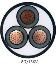 Copper Cable Yjv 26/35kv 1x400 33kv Xlpe Armoured Cable