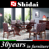 A-29 Walnut mdf dining room / dining room furniure / used dining room furniture for sale