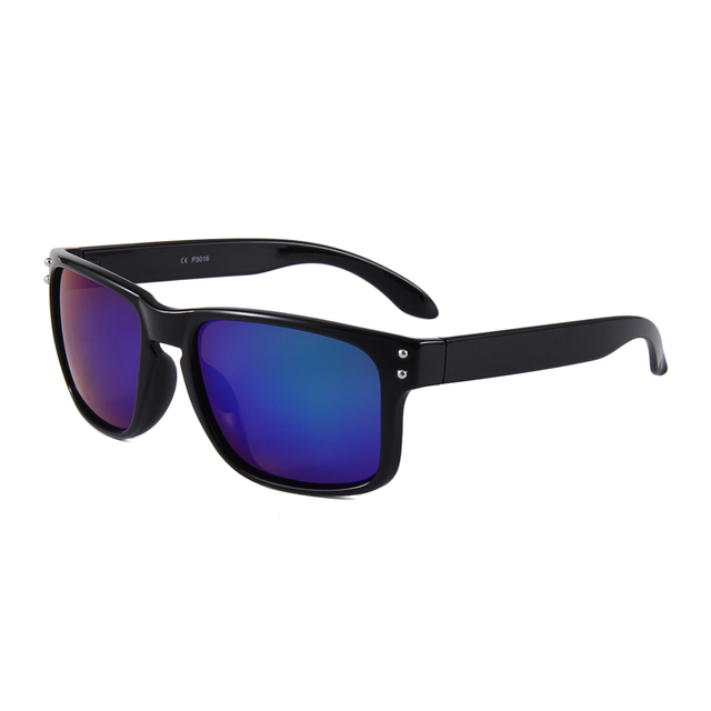 Retro Men Driving Black PC Frame Male Polarized Sunglasses UV400