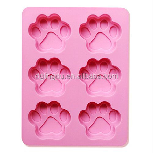 2017 wholesale Food-Grade Silicone Ice Molds