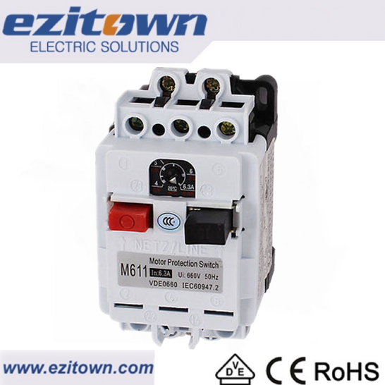 M611 Single pole mccb korea Motor protection circuit breaker