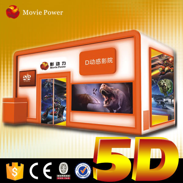Amazing shooting game 6dof 5d 6d 7d 9d 12d mobile cinema or truck