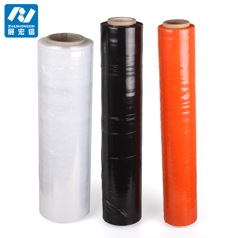 Construction film stretch film tubing plastic roll film