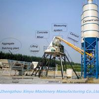 small concrete batching plant for sale hzs35