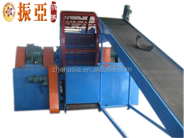 tire crumb rubber crusher/used car tire crusher