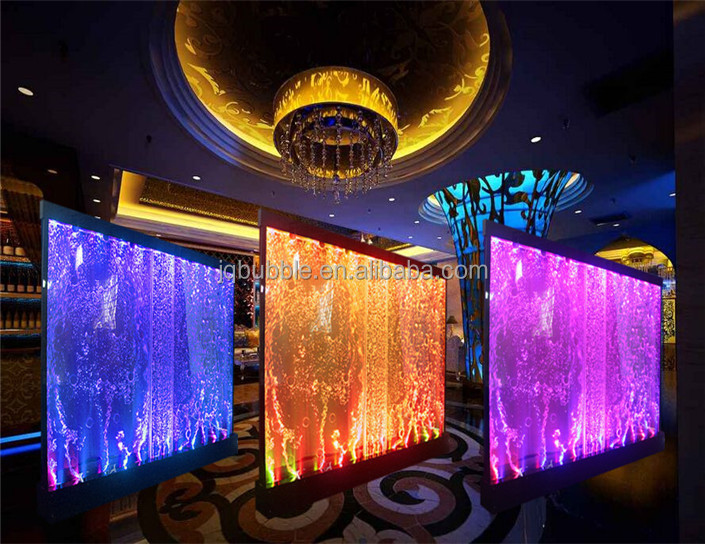 Indoor banquet decor customized partition wall acrylic water bubble panels