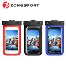 Custom Dirtproof Snowproof Pouch Bag Best Waterproof Cell Phone Case