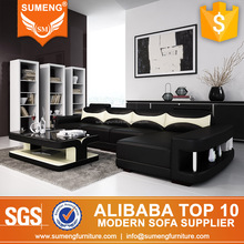 2015 germany mini sectional L corner sofa for apartment