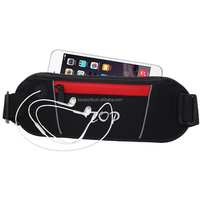 Adjustable Fitness Workout Waist Pack / Running Belt /Travel Money Pouch