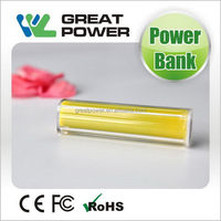 Contemporary promotional 2015 ultrathin power bank polymer