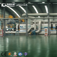 Industrial Continuous Scrap Tire Production Line for Pyrolysis Treatment