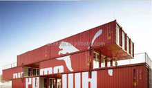 Multiple -storey Prefab House 20ft portable low cost prefabricated container house