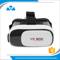 Movie Visor 3D Vr Virtual Reality Glasses Innovative Design Fit for iOS, Android & PC phones Series within 4.0-5.9inches