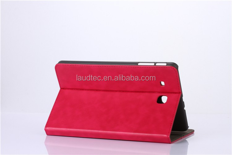 For Samsung t560 Smart Tablet PC Fold Imitation Leather Case Cover