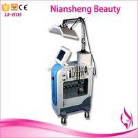 7 colour led PDT skin hydro dermabrasion face hydra oxygen spray skin scrubber microdermabrasion machine
