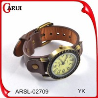 Wholesale alibaba watch band leather popular leather wrist watch mens leather watch