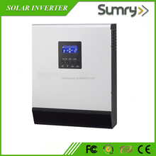 high frequency off grid dc 12v ac 220v 1kw solar inverter with solar charge controller