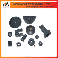 Factory good quality industrial rubber parts plastic injection prototype in Suzhou